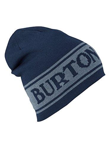 (Burton Herren Billboard Wool Beanie Mütze, Mood Indigo, One Size)