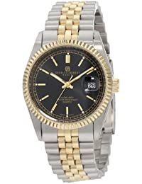 Charles-Hubert, Paris Men's 3635-B Premium Collection Two-Tone Stainless Steel Watch