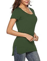 Para estrenar 97e8b c1d31 Amazon.es: camisa militar mujer - Camisetas / Camisetas ...