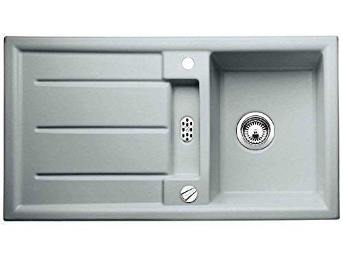 Blanco Prion 5 S Alugrau Einbau Keramikspüle Küchenspüle Grau Auflagespüle