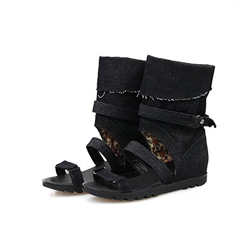 Balamasa, Sandales Femme Noir