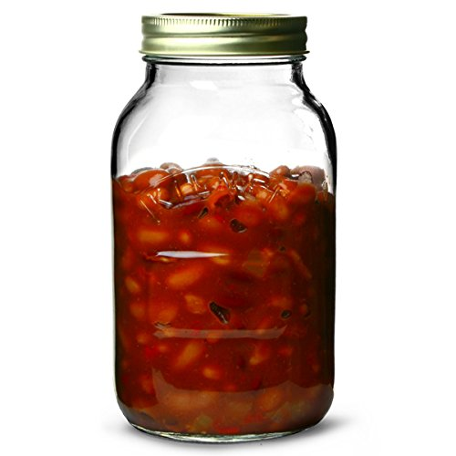 Kilner 1 Litre Genuine Screw Top Jar (Pack of 12)