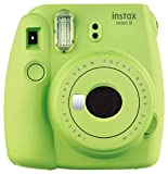 Fujifilm Instax Mini 9 Instant Point and Shoot Camera (Lime Green)