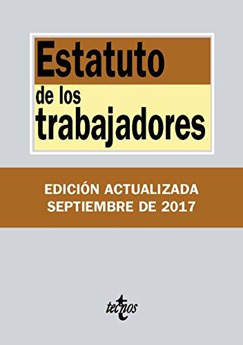 Estatuto de los Trabajadores por Editorial Tecnos