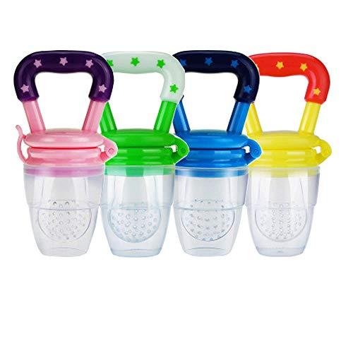 4 piezas Alimentador de alimentos para bebés