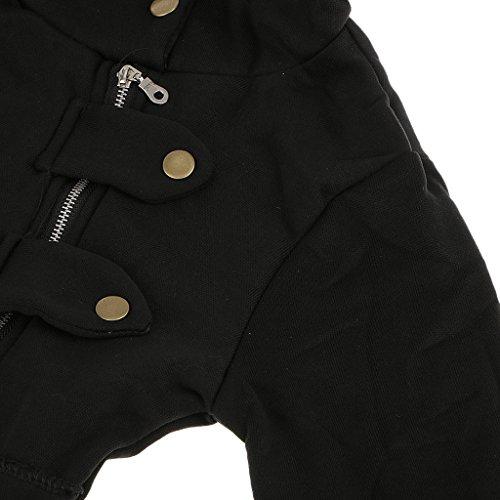 Mode Féminine Pull Hoodies Des Capuche Sweatshirt Chapeau Bonnet Vêtement D'hiver Élégant Chandail Confortable à Porte Protèger Du Froid Noir