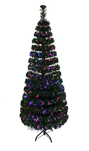 fibre-optic-pre-lit-xmas-christmas-tree-with-coloured-leds-green-4-ft