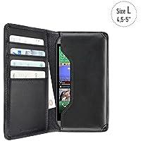Artwizz 5514-1312 Universal Wallet Case (geeignet für Smartphone (4,5 bis 5 Zoll)) schwarz