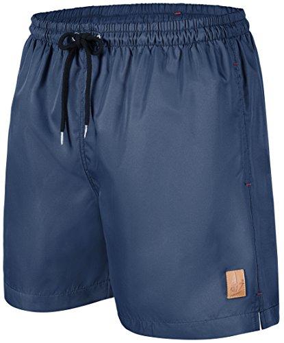 #101 Badeshorts Herren a1002 Windstärke7 dunkelblau, Größe XXL (Cargo Schwimmen)