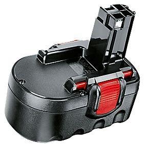 Preisvergleich Produktbild Bosch 26073352772607335628Akku für Elektrowerkzeug Bosch 18V und Gartenwerkzeuge Bosch 18V NiCd 1,2Ah 18V