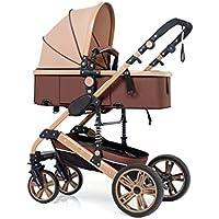 Baby stroller- El cochecito de bebé puede sentarse y doblar el carro de bebé bidireccional