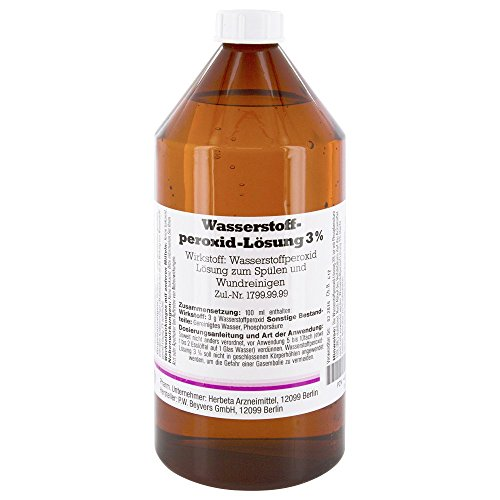 Herbeta Wasserstoffperoxid 3 % Lösung, 1000 ml