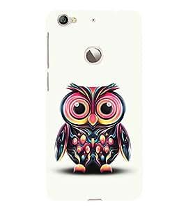 Cute Baby Owl 3D Hard Polycarbonate Designer Back Case Cover for LeEco Le 1s :: LeEco Le 1s Eco :: LeTV 1S