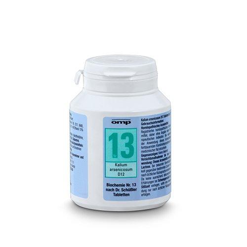 Schuessler Salz Nr. 13 Kalium arsenicosum D12 - 400 Tabletten, glutenfrei