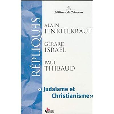 Repliques judaïsme et christianisme