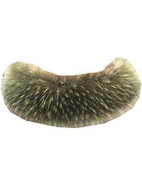 Ysting Cappuccio Assetto Di Ecopelliccia Donna Collare collo di pelliccia  ecologica 82c673db27bf
