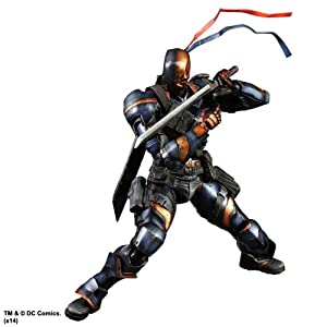 Batman Arkham Origins Play Arts Kai Figura Deathstroke 27 cm 11