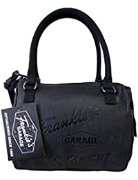 Frankie's Garage wash bag to go - Bolso de asas para mujer Negro negro