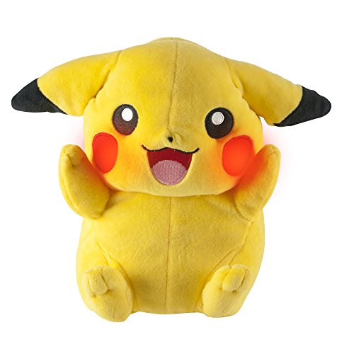Pokemon My Friend Pikachu Feature Plush Toy with Lights and Sounds