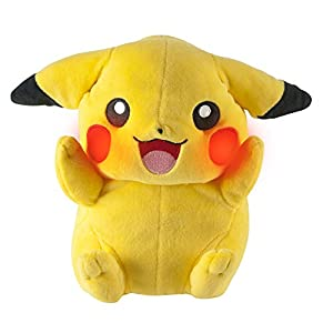 "Pokemon T18984D ""My Friend Pikachu"" - Peluche de Pikachu, diseño con sonido"