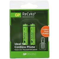Gp Batteries Recyko+ 650 Aaa Ince Kalem Ni-Mh Şarjlı Pil, 1.2 Volt, 2'Li Kart