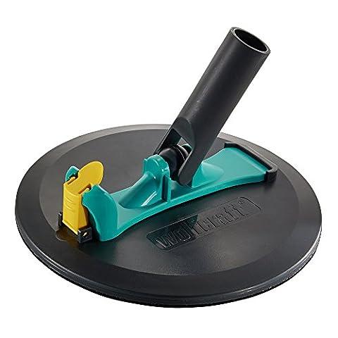Wolfcraft 4052000Surface de 225mm ponceuse pour Easy Fix Patins–Noir
