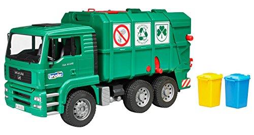 Bruder 02753  - MAN camión de basura...
