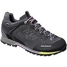MAMMUT Ridge Low GTX Zapato de Senderismo Señora, Grafito, 38