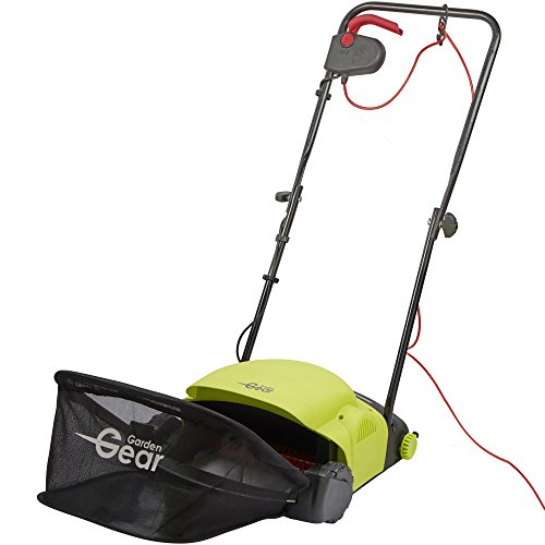 Garden Gear Electric Lawn Raker Removes Grass & Moss. Adjustable Working Height 400w with 20L Collection Bag (Lawn Rake and Scarifier) Test