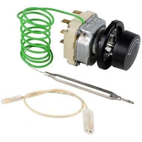 Termostato acqua di regolazione a bulbo e capillare - 55.22219.020 SOPAC 1070/TR712 - ATLANTIC : 900514