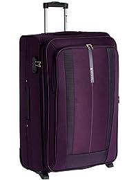 Safari Revv Polyester 75 cms Purple Softsided Suitcase (Revv-75-Purple-2wh)