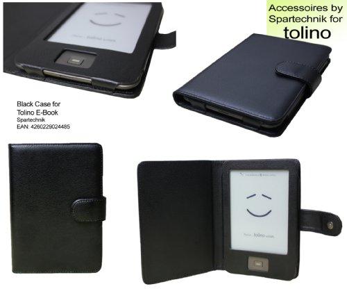 Spartechnik Tasche für Tolino Shine Tolino Shine 2 HD von Bertelsmann Weltbild Thalia Telekom Hugendubel - bestes Case für Tolino Shine E-Book Reader - schwarz