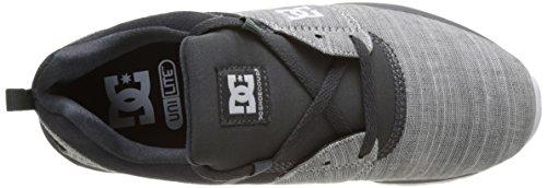 DC Shoes Heathrow Se, Baskets Basses Homme Gris (Grey Gris Heather)