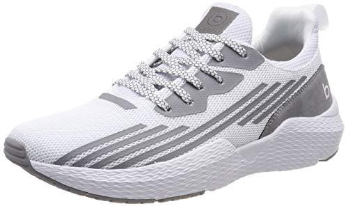 bugatti Herren 341730606900 Slip On Sneaker, Weiß (Weiß 2000), 44 EU
