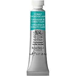 Winsor & Newton Cobalt Turquoise Light - Tubo de pintura para acuarelas (5 ml), color azul