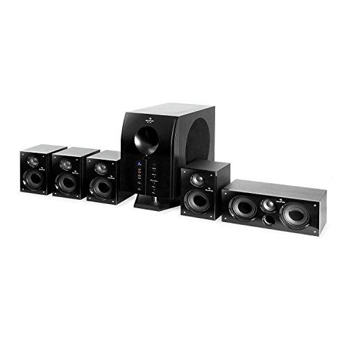auna Areal 525 BK Home Cinema 5.1 • Equipo de Sonido Envolvente...