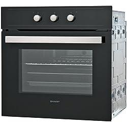 Sharp Home appliances k-50m15bl2-Four (moyen, Four électrique, 64L, 2600W, 64L, 50-270°C)