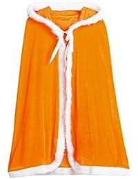 OverDose Baby Kinder Weihnachtskostüm Santa Kapuzen Cosplay Cape Robe Cosplay Kostüme für Jungen Mädchen