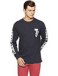 Tommy Hilfiger Men's Solid Regular Fit T-Shirt