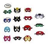 SouthStar Masques de Super-Héros, 15 PiècesMasques de Déguisement pour...