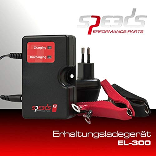 Speeds Batterieladegerät Erhaltung 12V EL300 Roller