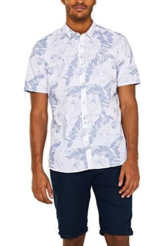 F018 Freizeithemd Weiß (White 100) Medium (Herstellergröße: M) ()
