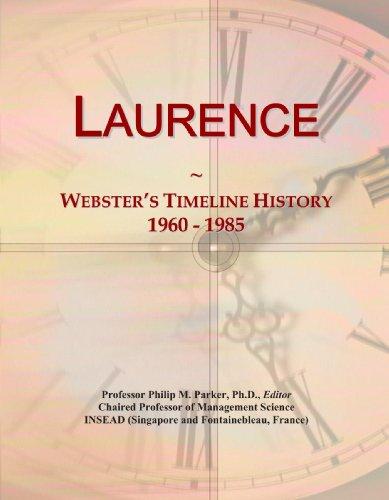 Laurence: Webster's Timeline History, 1960-1985