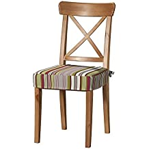 Dekoria IKEA INGOLF Chaise Housse De Coussin Motif Rayures Multicolore