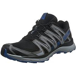 Salomon XA Lite, Calzado de Trail Running para Hombre, Negro (Black/Quiet Shade/Imperial Blue), 45 1/3 EU