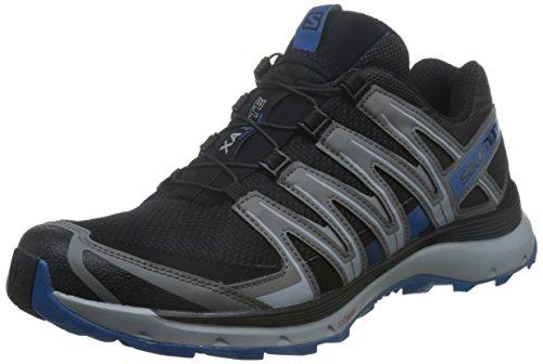 Salomon XA Lite Scarpe da Trail Running Uomo, Nero (Black/Quiet Shade/Imperial Blue), 44 2/3 EU