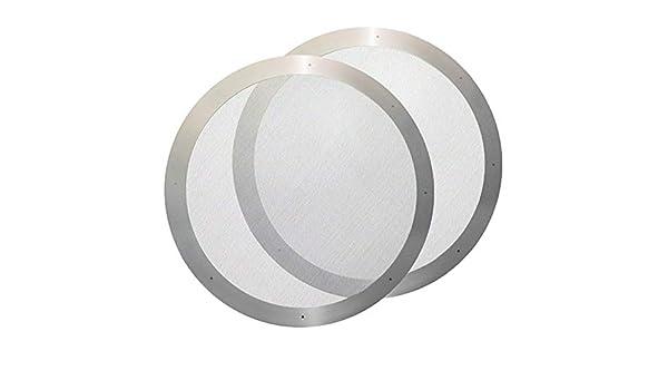 ACCIAIO Inossidabile Riutilizzabile Filtro di metallo Mesh per AeroPress Caffettiera Accessorio