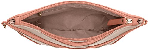 SwankySwans–Venice V a strisce elegante Smart borsa frizione Pink (Pink)