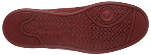Geox U Warrens B, Baskets Basses Homme Rot (DK REDC7004)