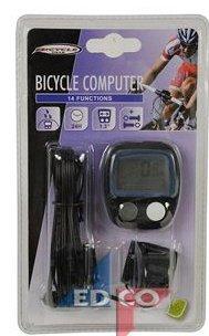 Fahrradcomputer mit 14 Funktionen in Schwarz (Uhr Gear Bicycle)